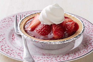 Fresh Strawberry-Chocolate Tarts