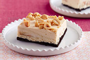Frozen Peanut Butter and Banana Bars