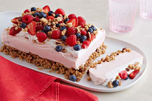 Frozen Yogurt-Berry Dessert