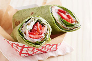 Turkey-Strawberry Wrap Image 1
