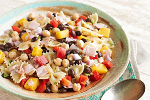 Spicy Black Bean Pasta Salad