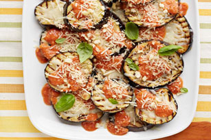 Grilled Eggplant Parmesan Pomodoro