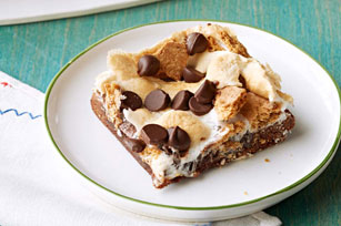 Gimme S'More Grilled Brownies