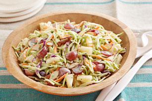 Broccoli Slaw with Poppyseed Dressing and Fruit