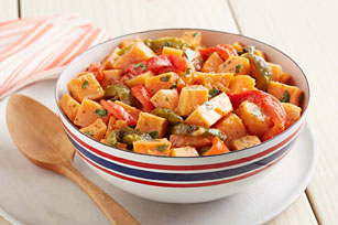 Roasted Pepper Sweet Potato Salad