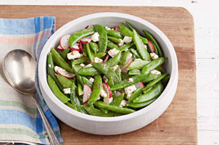 Simple Snap Pea Salad Image 1