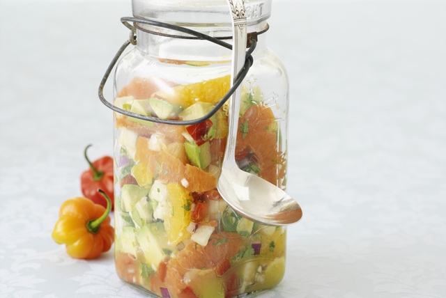 Fresh Citrus-Avocado Salsa Image 1