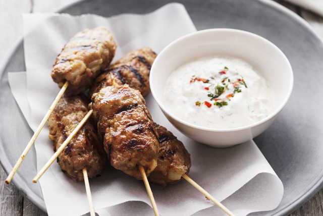Middle Eastern Beef Kabobs Image 1