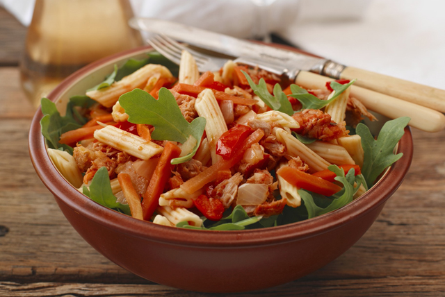 Penne Pasta Salad with Tuna and Peppers Image 1