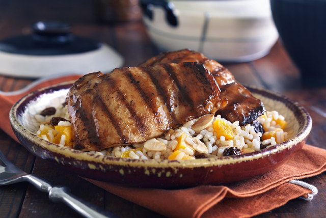 Moroccan Chicken with Fruity Rice Image 1