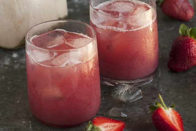 Strawberry and Coconut Water Chiller Image 1