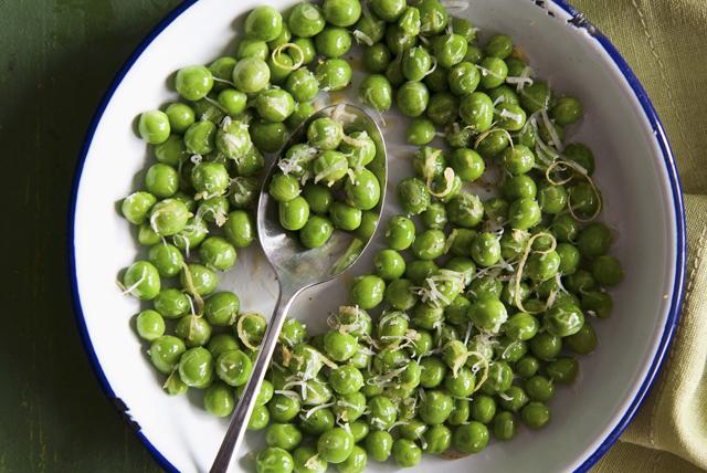 Tuscan Parmesan Peas Image 1