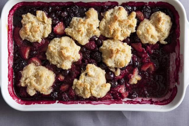 Mixed Fruit Cobbler Image 1
