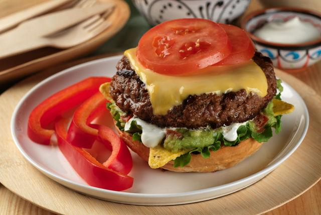 Nacho Burger Image 1