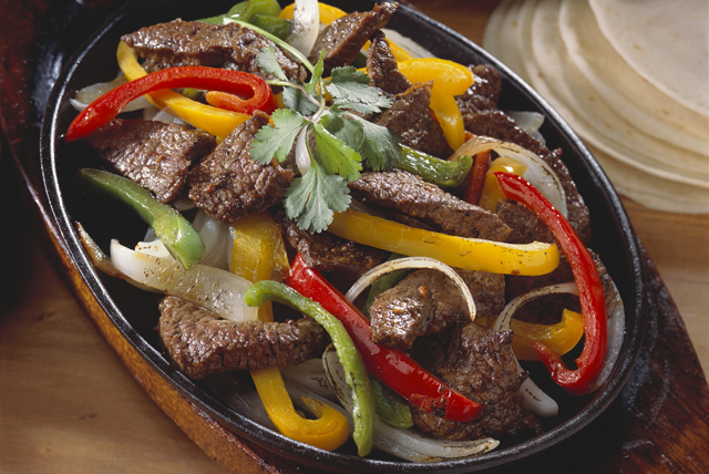 Beef and Pepper Fajita Skillet