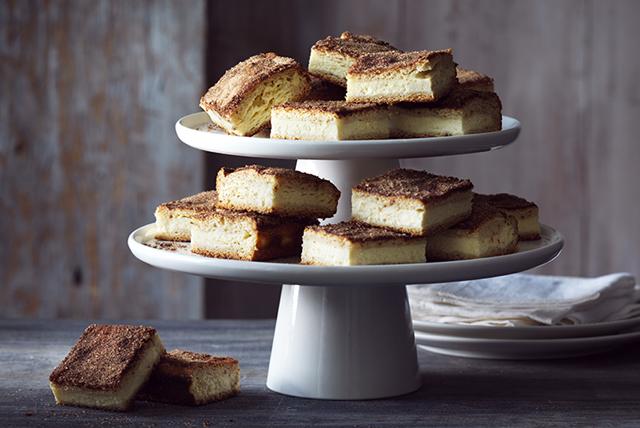 Barres de gâteau au fromage façon churros Image 1