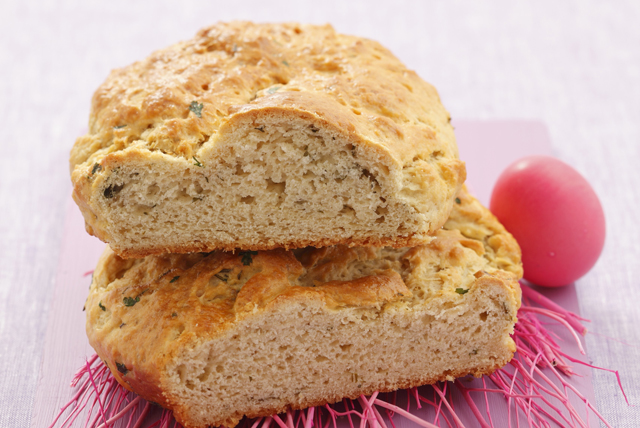 Quick Herbed Cheese Bread Image 1