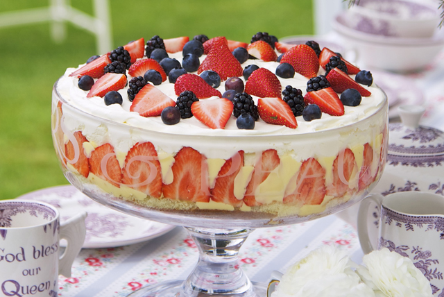 Triple-Berry Trifle
