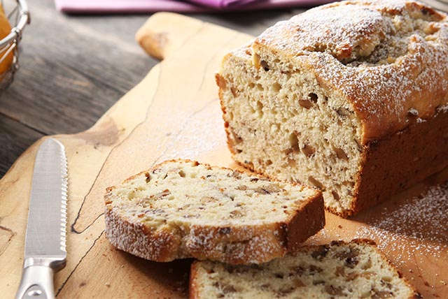 Lemon-Walnut Tea Loaf
