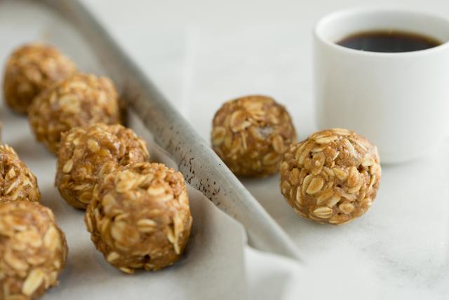 Ginger-Peanut Butter Snack Bites Image 1