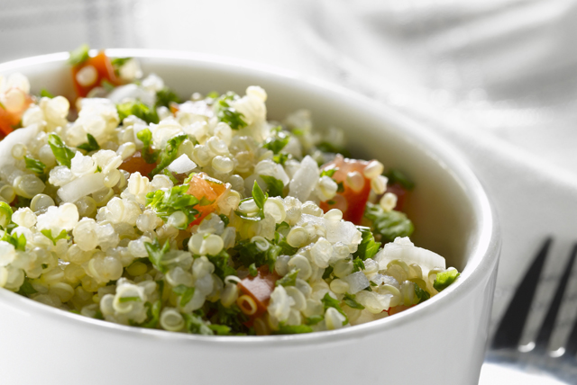 Quinoa 'Caesar' Toss Image 1
