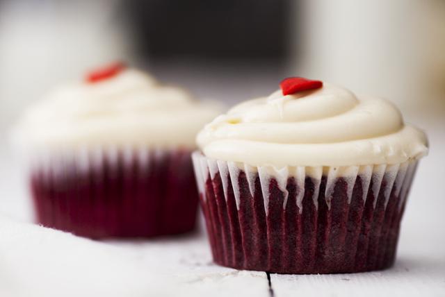 Red Velvet Beet Cupcakes Image 1