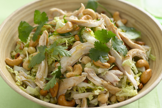 Cashew Chicken Asian Salad Image 1