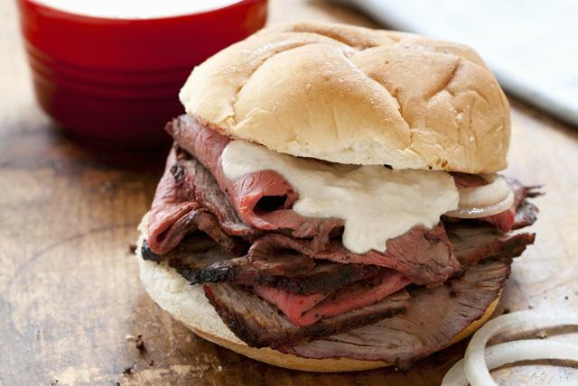Creamy Horseradish Steak Sandwich Image 1