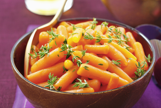 Glazed Baby Carrots with Thyme Image 1
