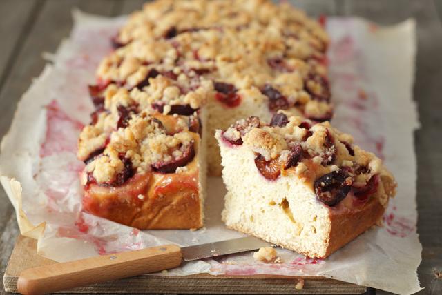 Gâteau streusel aux prunes Image 1
