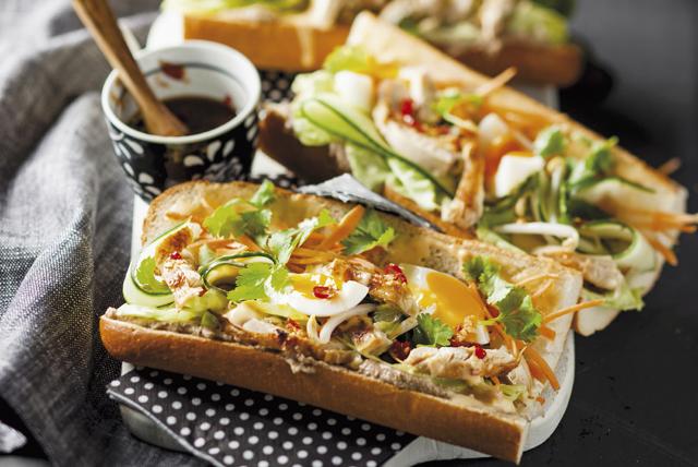 Pork Bahn Mi Sandwiches Image 1