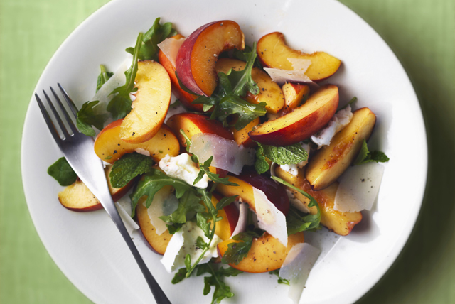 Fresh Peach Salad Image 1