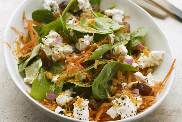 Spinach Salad with Feta Image 1