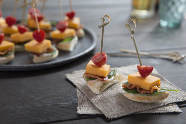 Bacon-Cheddar Stacker Snackers Image 1