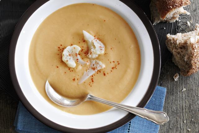 Potage au chou-fleur et au cheddar Image 1