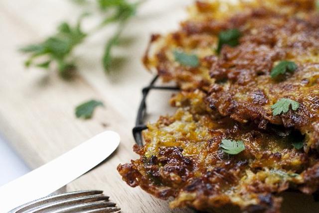 Crêpes de pommes de terre au parmesan Image 1