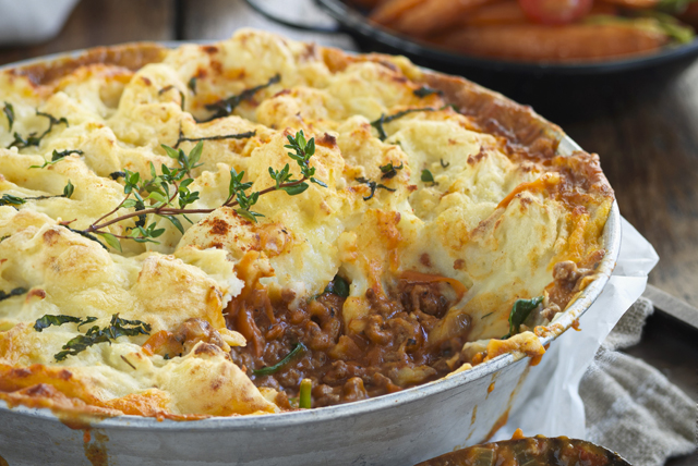Veggie-Packed Shepherd's Pie
