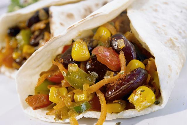 Burritos aux légumes et au fromage Image 1
