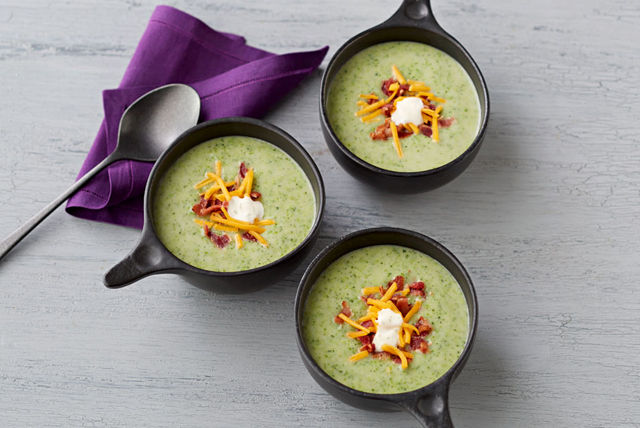 Cream of Broccoli and Potato Soup