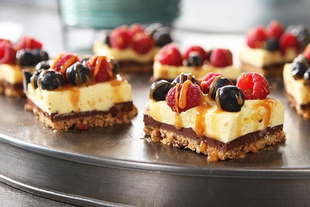 Tarte aux baies et au chocolat Image 1