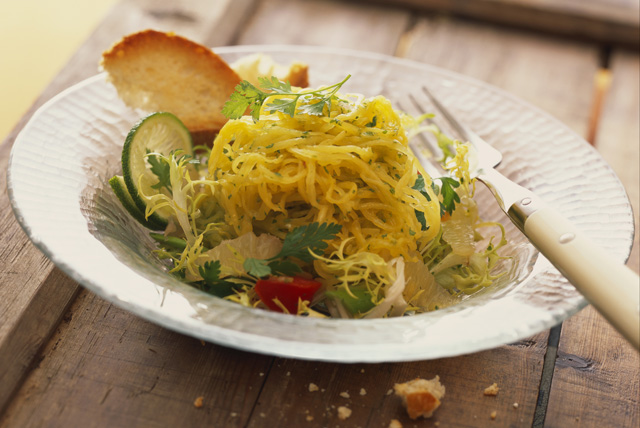 Salade à la courge spaghetti Image 1