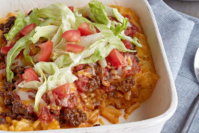Macaroni au fromage façon taco Image 1