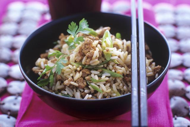 Riz frit au poulet et à la coriandre Image 1