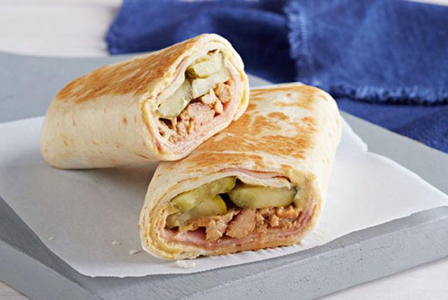 Burrito à la cubaine