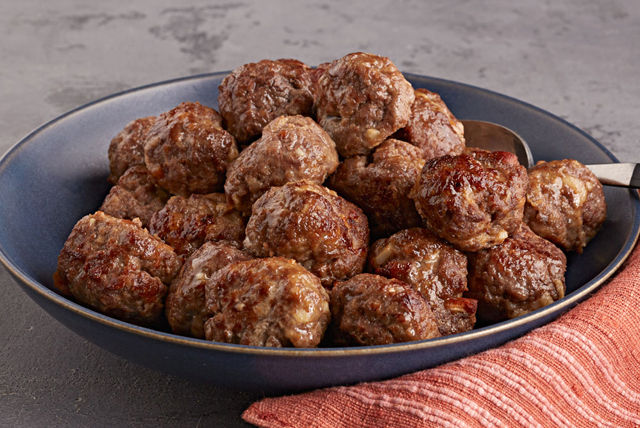 Perfectly Portioned Meatballs Image 1