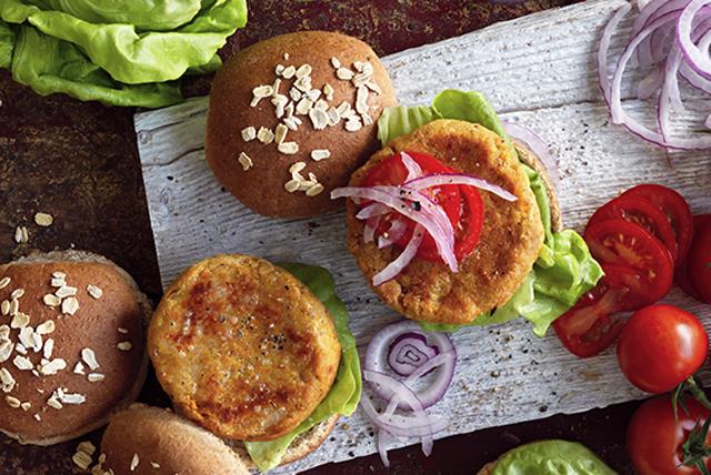 Red Lentil Burgers Image 1
