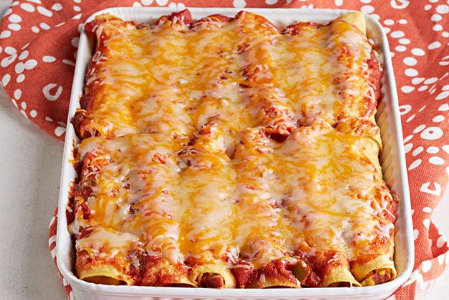 Enchiladas aux œufs gratinées Image 1