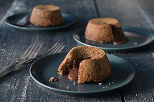 Peanut Butter-Chocolate Chunk Lava Cookies