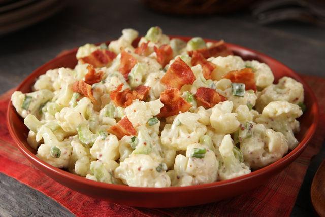 Salade de «pommes de terre» crémeuse au chou-fleur Image 1
