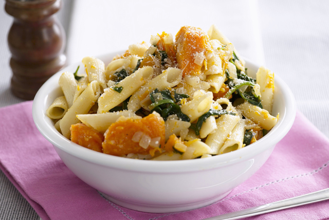 Pumpkin and Spinach Penne Image 1